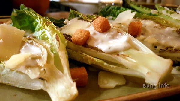 Salat mit Kräutersauce