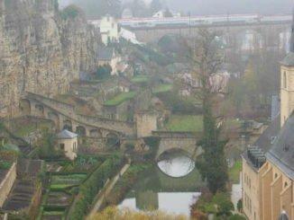 Nebel über Luxenburg