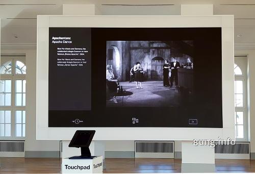 Apachentanz im Barberinimuseum