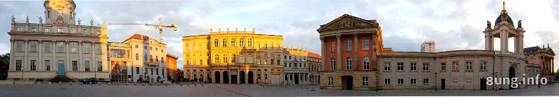 Panoramabild Potsdam Am Alten Markt
