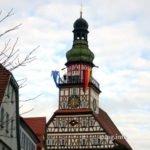 Turmbläser auf dem Rathausturm