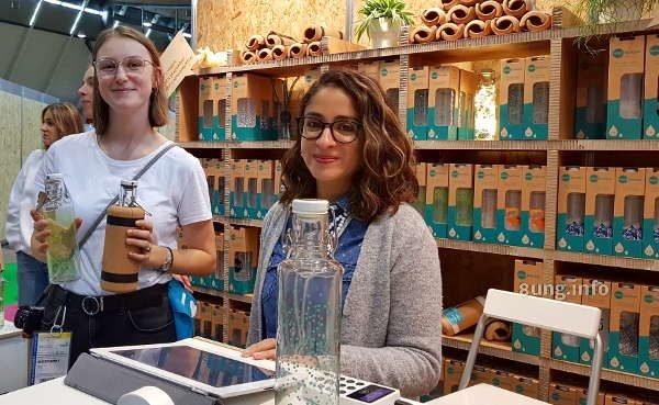 Glasflaschen mit Schnappverschluss