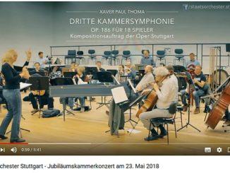 Video Kammersymphonie von Xaver Paul Thoma